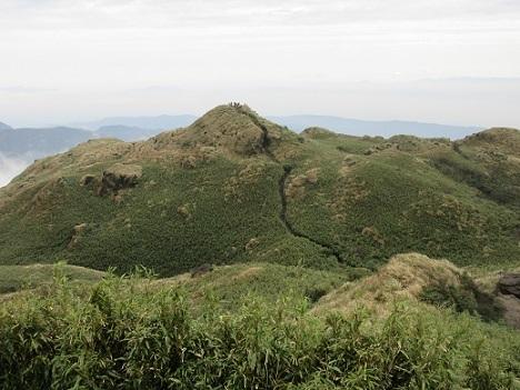 2 七星山東峰の景色