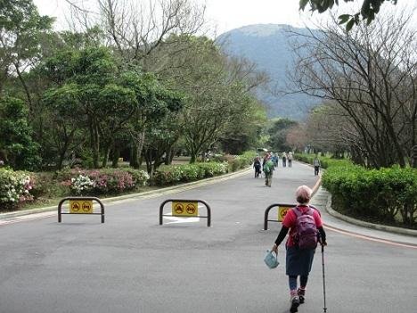14 陽明山国家公園 游客中心へ向かう