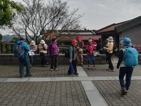 17 再び 陽明山国家公園・游客中心