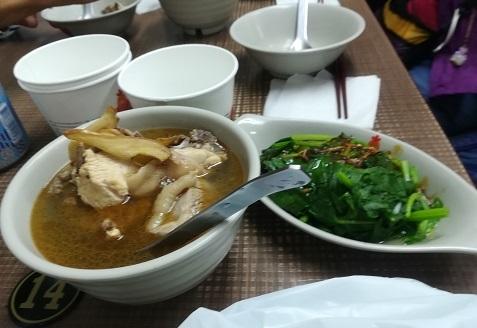 34 台湾の庶民食堂の料理