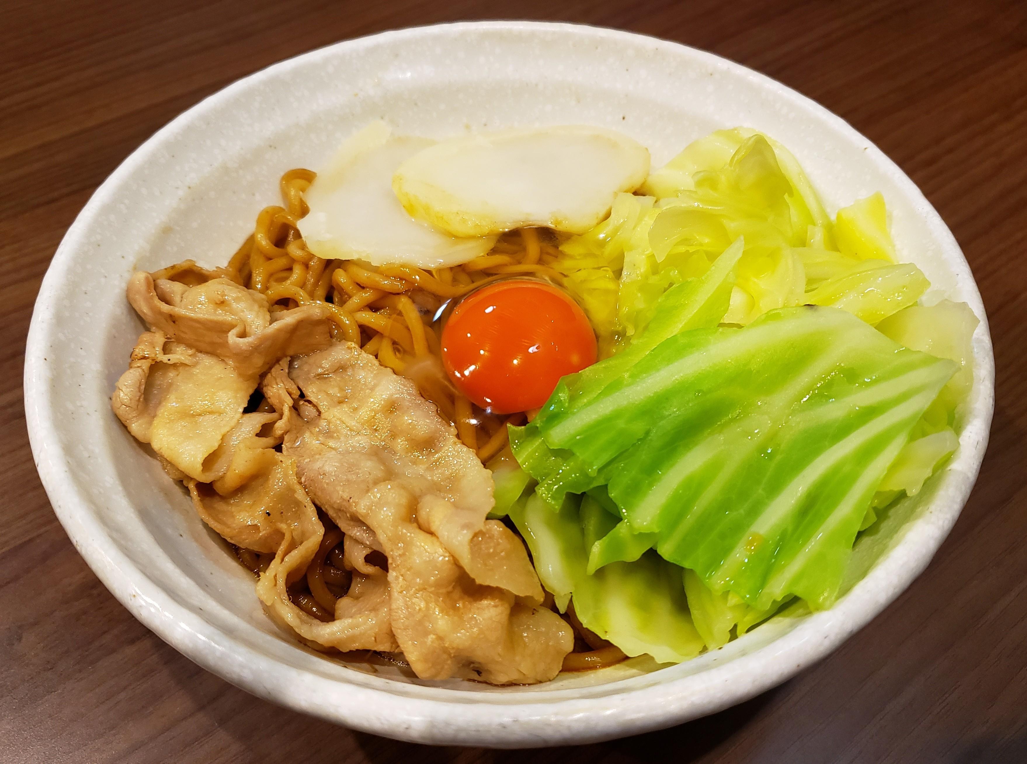 カレーまぜ麺
