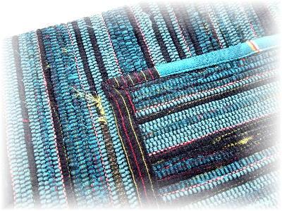 裂き織りバッグ14-1
