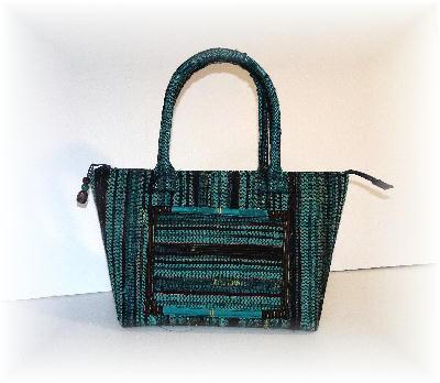 裂き織りバッグ14-2