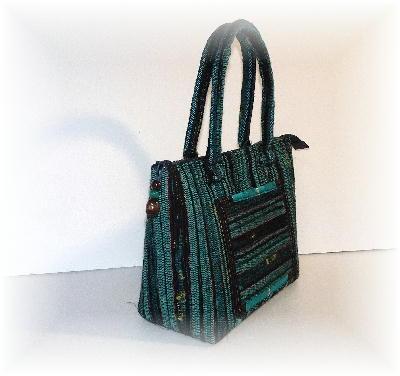 裂き織りバッグ14-3