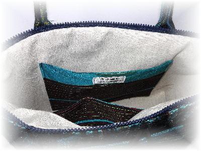 裂き織りバッグ14-5