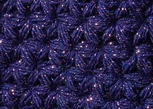 星空のリフ編み