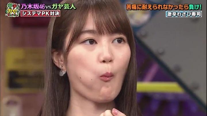 【ウチのガヤが】乃木坂の生田絵梨花、生田絵梨花は寿司でも無表情