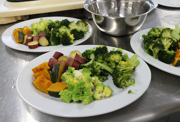 野菜の準備OK 31 2 20