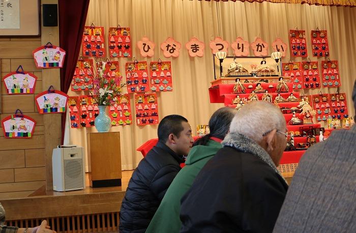 ひな祭り会に地域の人々 31 2 28