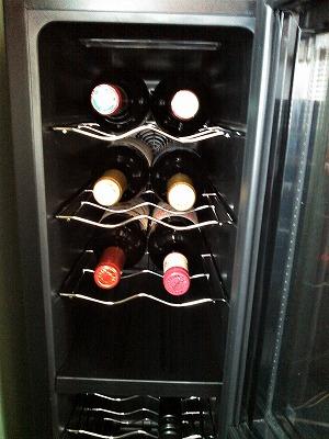 ワインセラー入り