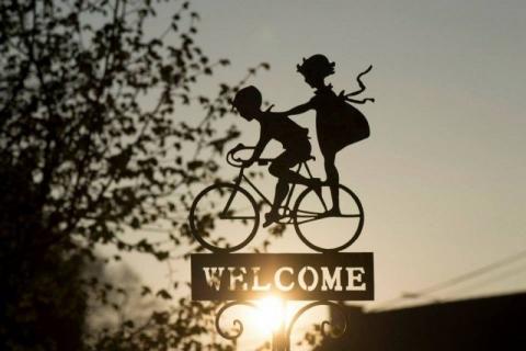 自転車 一緒