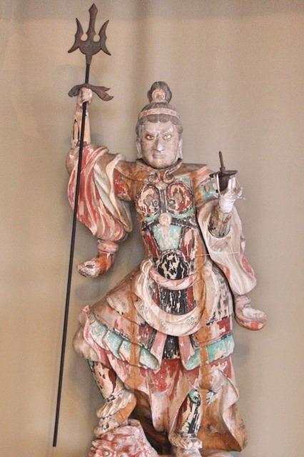 霊樹寺(埼玉)毘沙門天