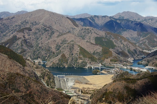 20190126-32 大野山より丹沢湖