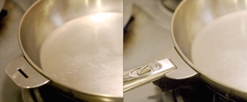 鍋に柄をつける