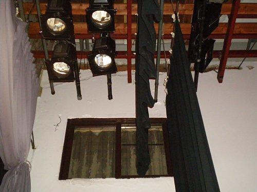 豊橋市公会堂・舞台天井