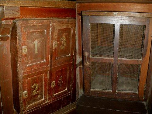 野間郵便局旧舎・私書箱