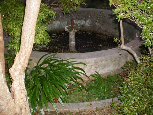 旧今泉医院・噴水