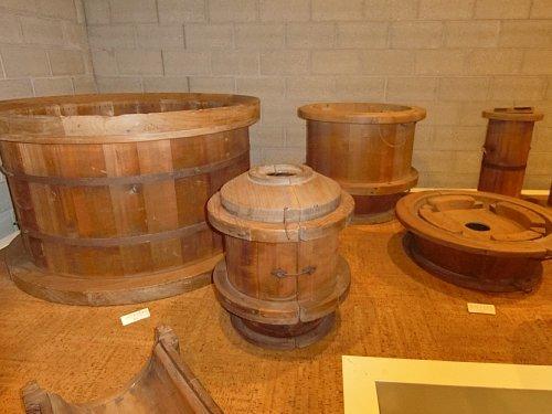 常滑の土管木型