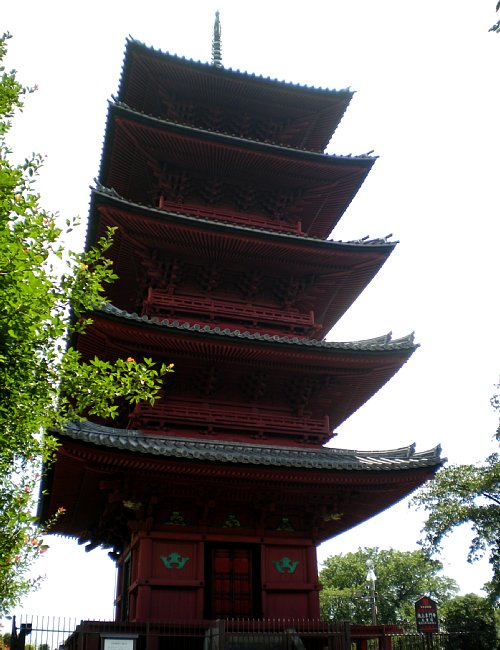 池上本門寺・五重塔