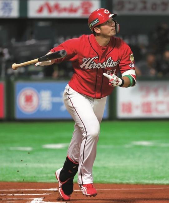 2018.10.30 日本シリーズ第3戦 敗戦ながら2本塁打と気を吐いた鈴木