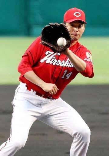 2018.6.22 阪神-広島 7回無失点で10勝目を挙げた大瀬良