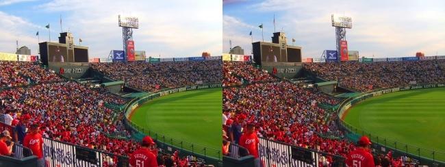 阪神-広島 甲子園球場 2018.6.22①(交差法)