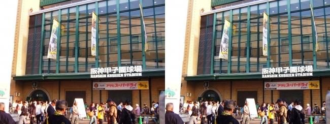 阪神-広島 甲子園球場 2018.4.10①(平行法)