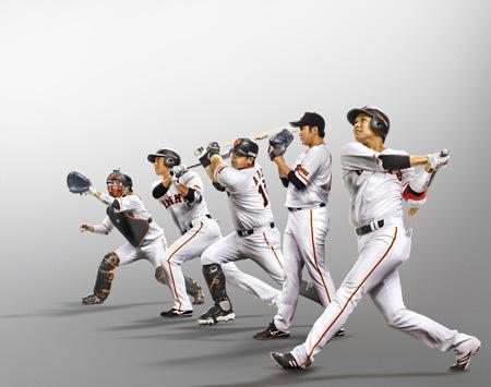 左より 小林、長野、阿部、菅野、坂本
