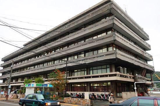 現在の尾道市役所本庁舎