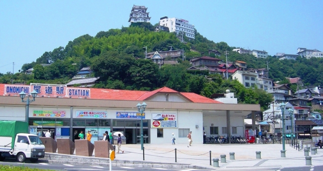 リニューアル前の尾道駅