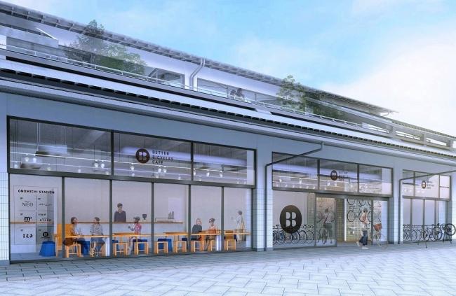 尾道の新駅舎(完成予想図)2