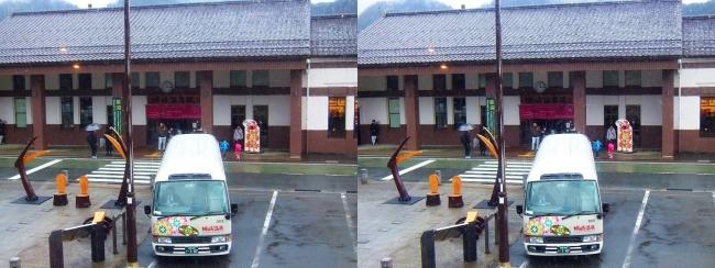 城崎温泉駅前(平行法)