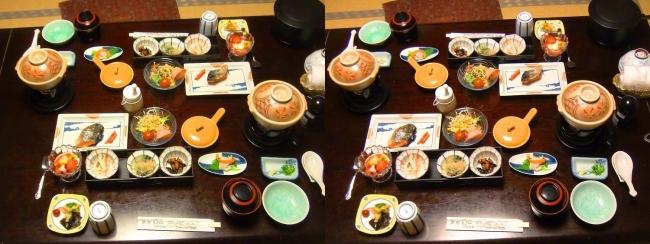 城崎温泉 旅館まつや 朝食(平行法)