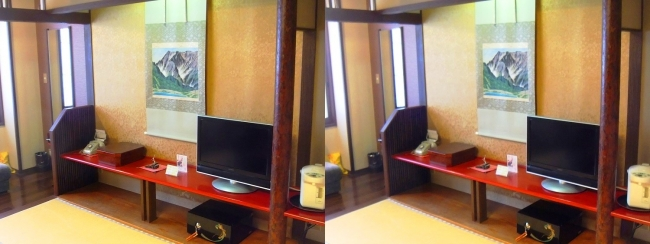 城崎温泉 旅館まつや202号室(平行法)