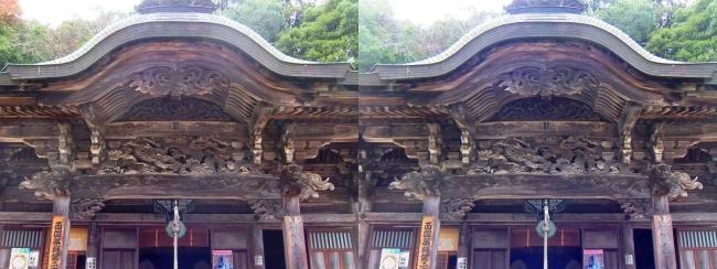 城崎温泉 温泉寺 薬師堂(平行法)