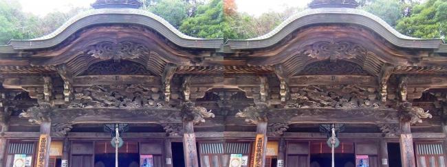 城崎温泉 温泉寺 薬師堂(交差法)