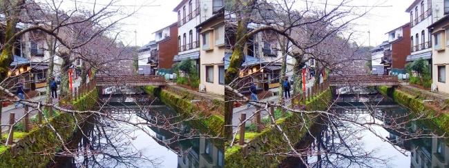 城崎温泉 木屋町通り(平行法)