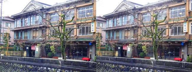 城崎温泉 旅館まつや小林屋(交差法)