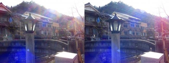 城崎温泉 愛宕橋 旅館まつや(平行法)