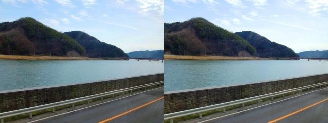 円山川・結和橋(平行法)