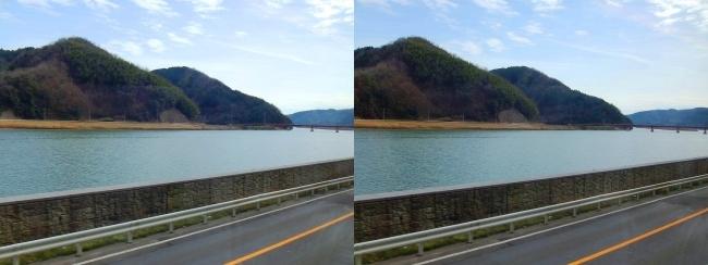 円山川・結和橋(交差法)