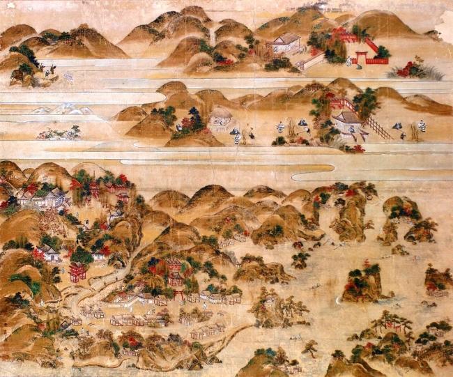 温泉寺縁起図