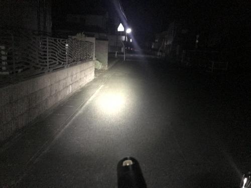【最近の夜間ポタリング】・3