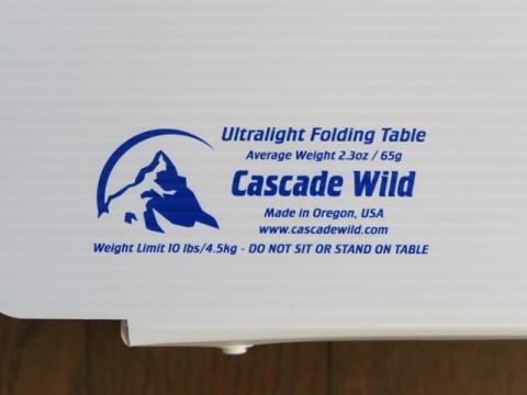 カスケードワイルド フォールディング・テーブル03