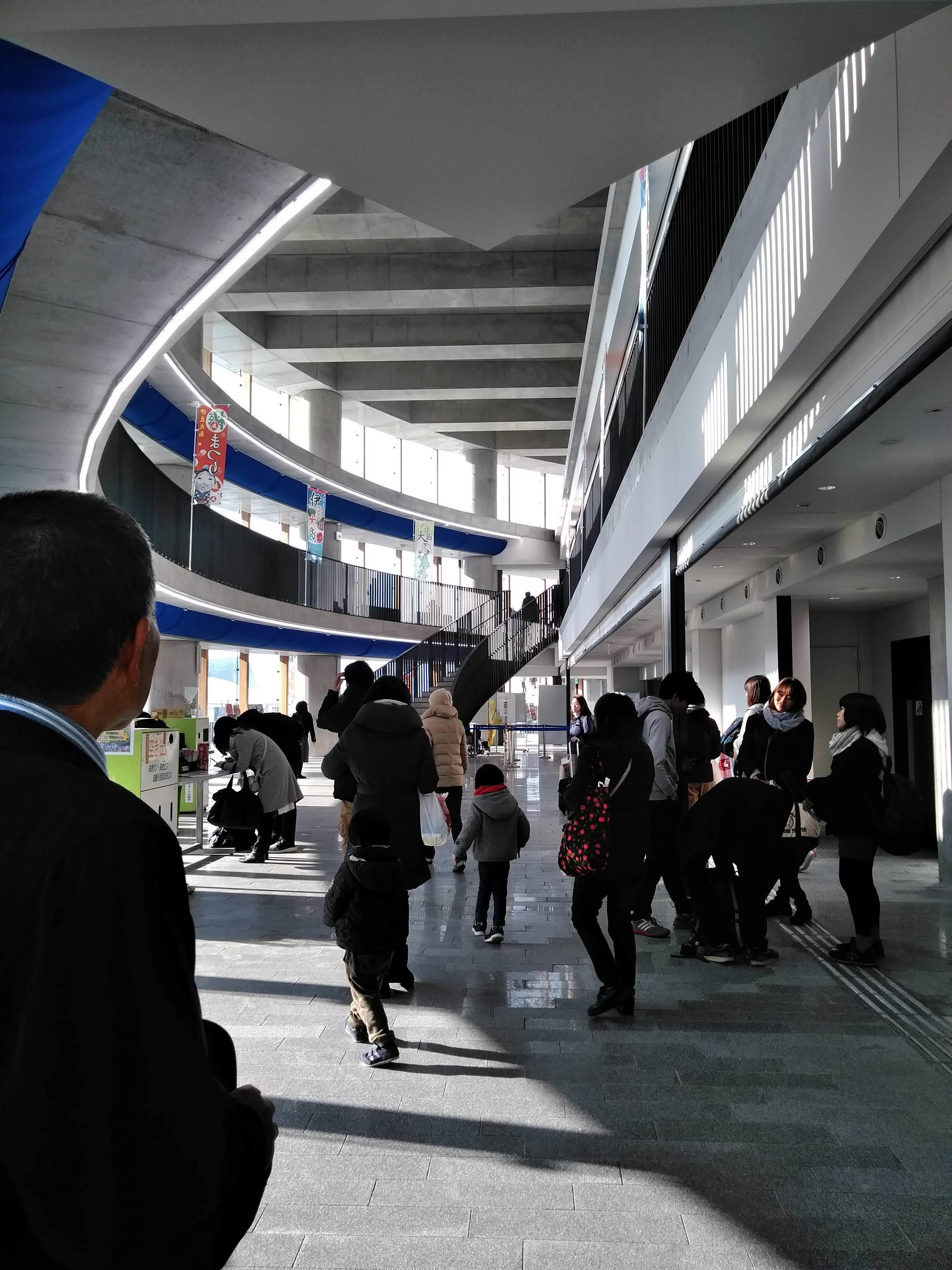 岡田港待合施設
