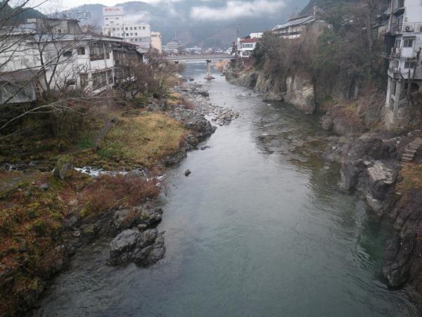 1月5日の吉田川