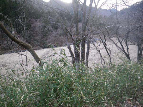寒水の埋め立て地