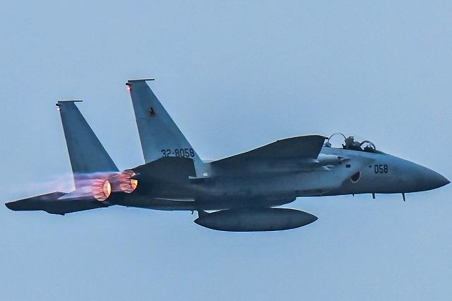 F15イーグル機動飛行