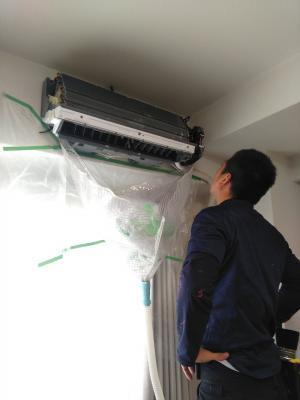 エアコンクリーニング 天理3