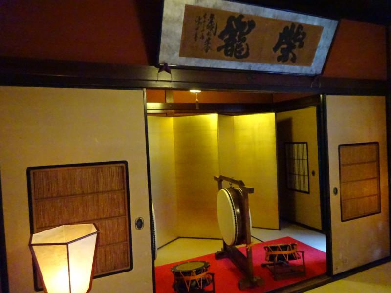 お茶屋で展示している和楽器